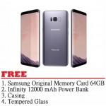 Samsung Galaxy S8 Plus 64GB (Grey) - Malaysia Set
