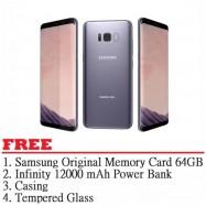 image of Samsung Galaxy S8 Plus 64GB (Grey) - Malaysia Set