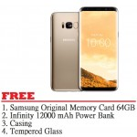 Samsung Galaxy S8 64GB (Maple Gold) - Malaysia Set