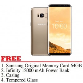 image of Samsung Galaxy S8 64GB (Maple Gold) - Malaysia Set