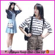 image of (MY-Ready Stock) Korean Striped Tee Batch 2 LH16