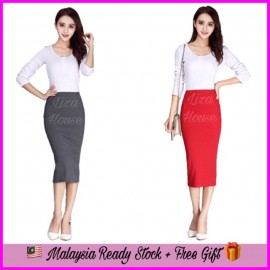 image of (MY  Ready Stock) Knitted Skirt LH50