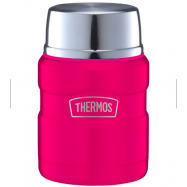 image of Thermos 0.47L Stainless King Food Jar with Spoon