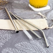 image of Stainless Steel Straw Sets