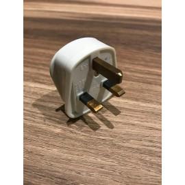 image of White Standard 3 Pin UK Plug