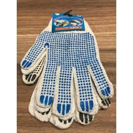 image of Skid proof  Working Gloves Superior Durable 2 pairs