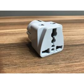 image of White Travel Converter Plug