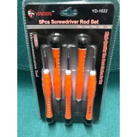 image of 5 Pieces Screwdriver Rod Set