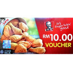 KFC Voucher RM100
