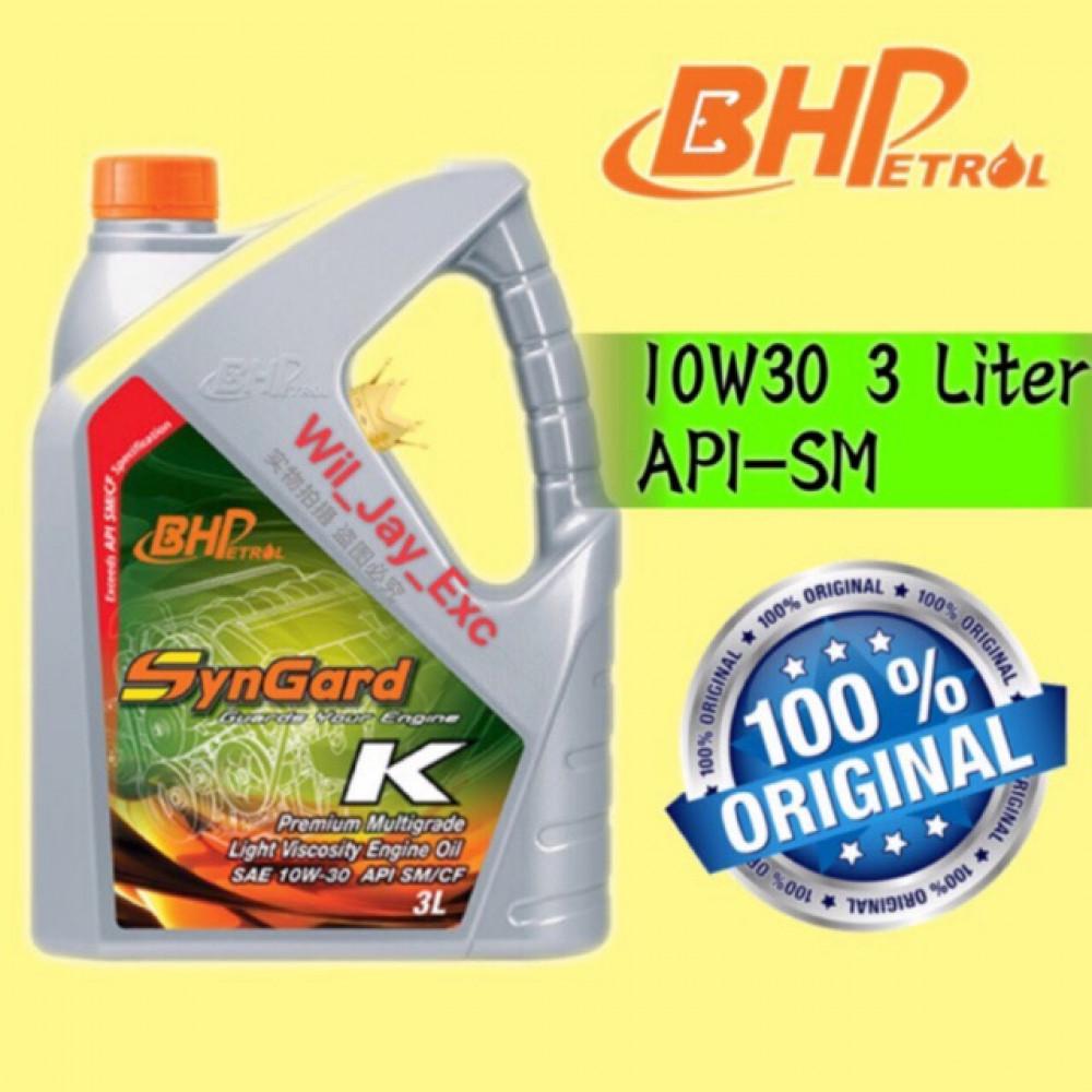BHP 3 LITER 10W30 (SYNGARD K)
