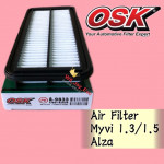 OSK AIR FILTER MYVI 1.3cc/ 1.5cc, ALZA (17801-BZ030) A-9833