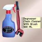 CHAIN CLEANER DEGREASER 500ML + BRUSH CHAIN CLEANER