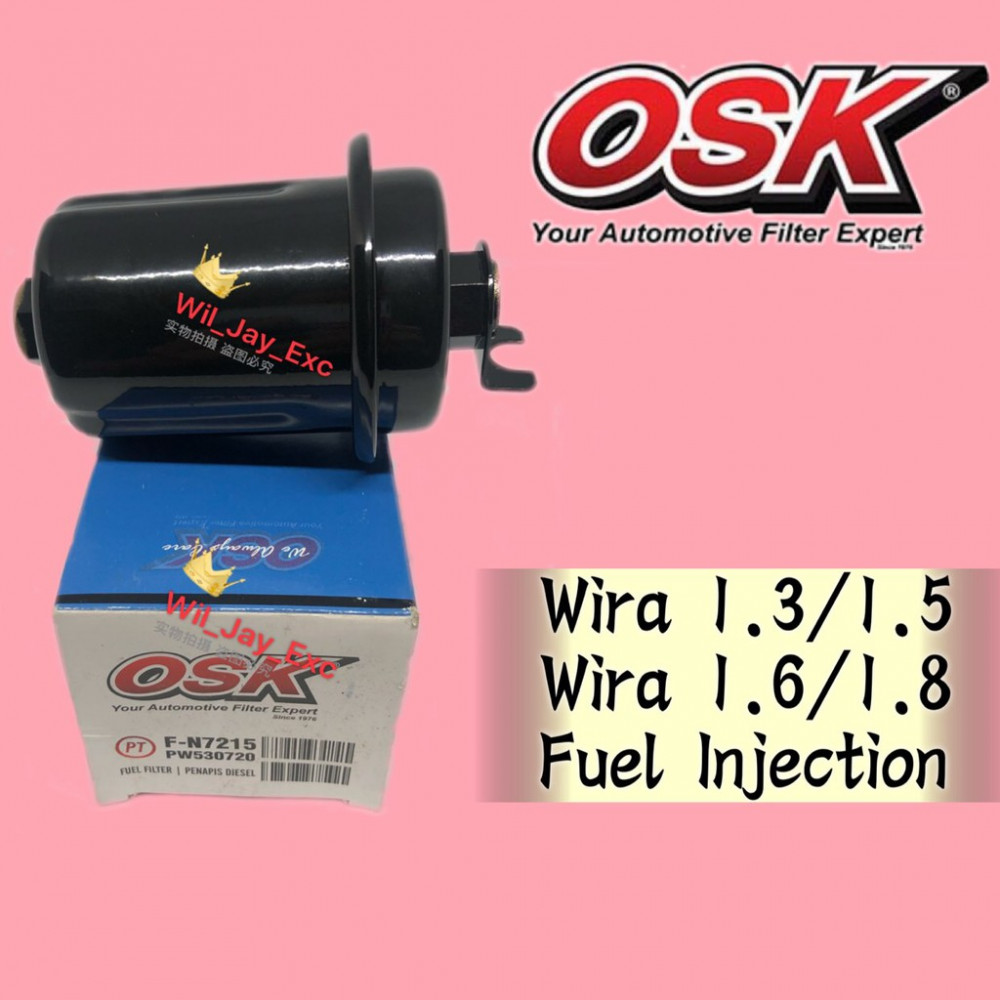 OSK FUEL FILTER WIRA 1.3/1.5/1.6/1.8 INJECTION (F-N7215)