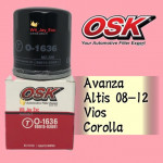 OSK TOYOTA OIL FILTER O-1636-AVANZA,VIOS,ALTIS,COROLLA,WISH