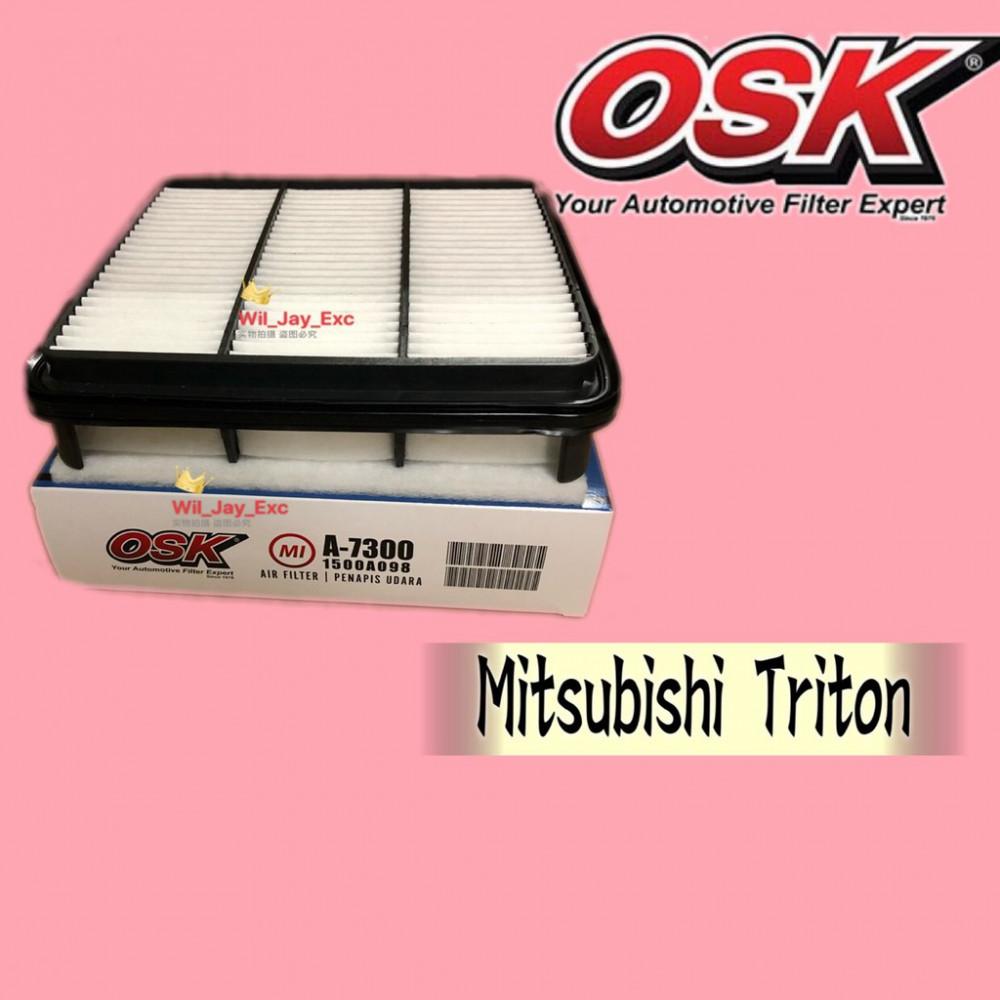 OSK AIR FILTER MITSUBISHI TRITON A-7300 (1500A098)