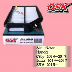 OSK AIR FILTER A-10305P HONDA CITY,JAZZ 2014-2017 , BRV 2016