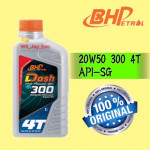 1 LITER BHP DASH 300 4T 20W50 MOTORCYCLE OIL