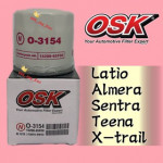 OSK NISSAN OIL FILTER O-3154-LATIO,ALMERA,SENTRA,TEANA,X-TRIAL,LIVINA