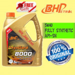 BHP 4 LITER SYNGARD 8000 5W40 FULLY SYNTHETIC