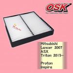 OSK CABIN FILTER AC-7724 TRITON 2015,LANCER,INSPIRA,OUTLANDER,PEUGEOT 4006,D-MAX