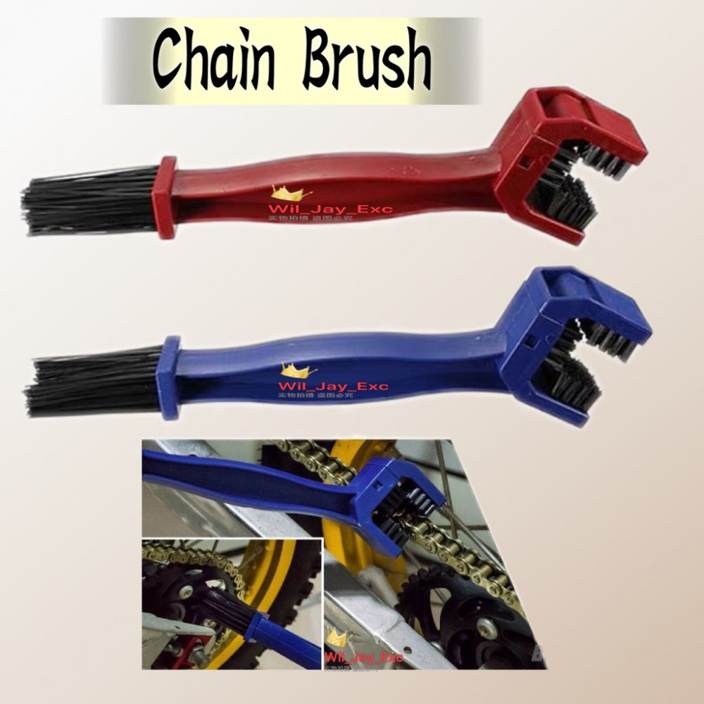 CYCLING BICYCLE MOTORCYCLE CHAIN CLEANING, TOOL GEAR BRUSH CLEANER, CHAIN CLEANER BRUSH