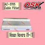 OSK CABIN FILTER NISSAN NAVARA D40 AC-3705 (1SET=2PCS)