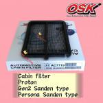 OSK CABIN FILTER AC-7719 PROTON GEN2 GEN 2 SANDEN TYPE,PEROSNA SANDEN TYPE AIRCOND FILTER