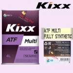 KIXX ATF MULTI 4 LITER FULLY SYNTHETIC DX-3,DX-4,SP-2,SP-3 DEXRON III