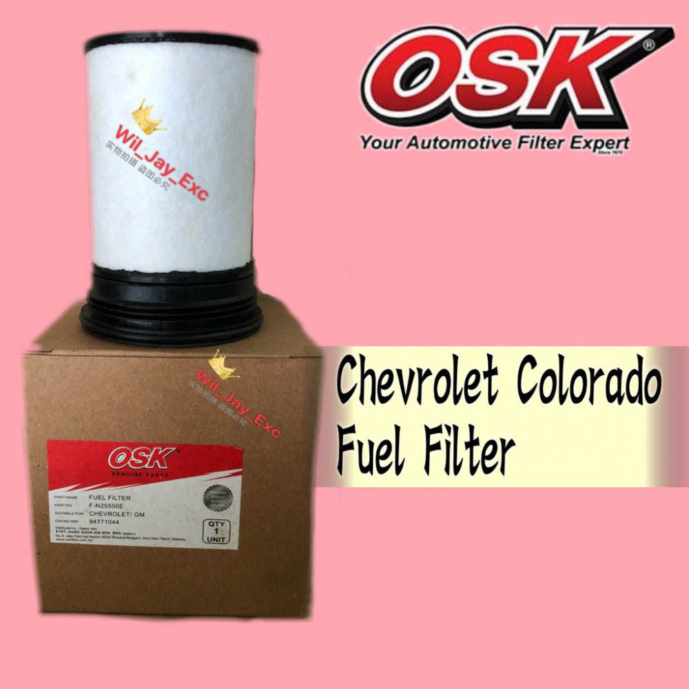 OSK FUEL FILTER F-N25500U CHEVROLET COLORADO (94771044)