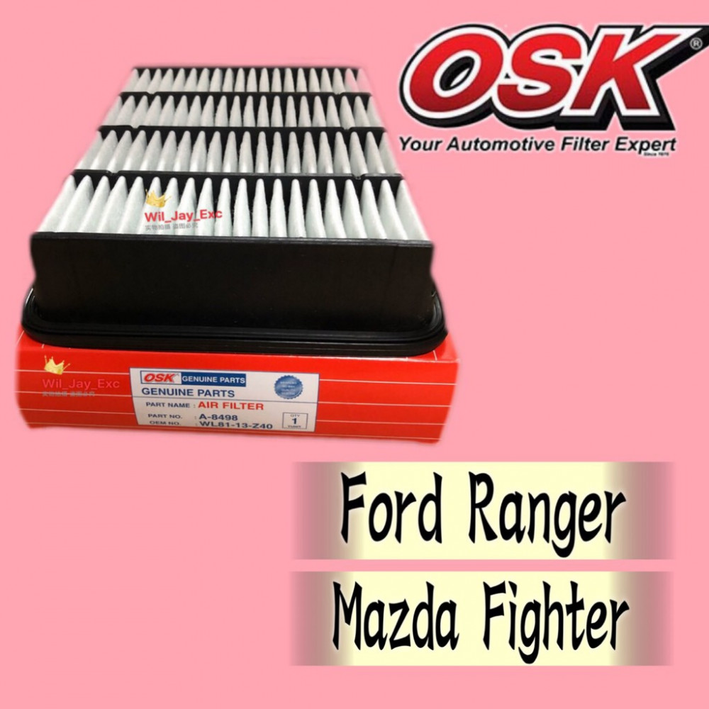 OSK AIR FILTER FORD RANGER,MAZDA FIGHTER A-8498 (WL81-13-Z40)