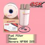OSK FUEL FILTER F-N3505E NISSAN NAVARA NP300 D23 DIESEL FILTER