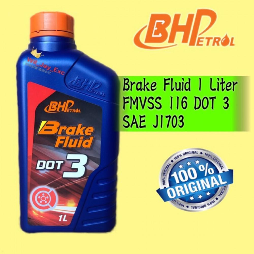 BHP 1 LITER BRAKE FLUID DOT 3 DOT3
