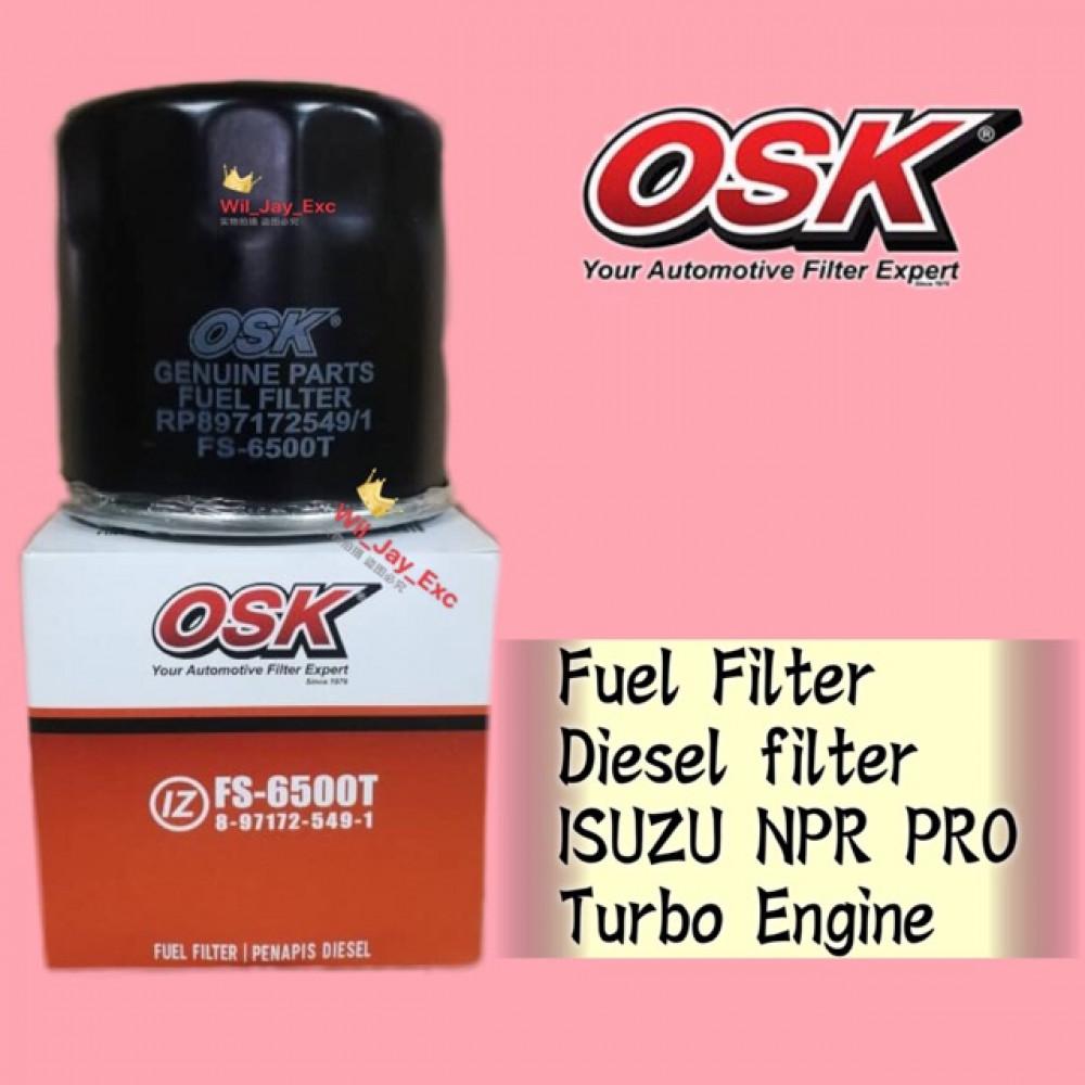 OSK FUEL FILTER DIESEL FS-6500T ISUZU NPR PRO