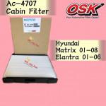 OSK CABIN FILTER AC-4707 HYUNDAI MATRIX,ELANTRA AIR COND FILTER