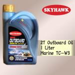 1 LITER SKYHAWK OUTBOARD ENGINE OIL MARINE TC-W3 SPEED BOAT TCW3