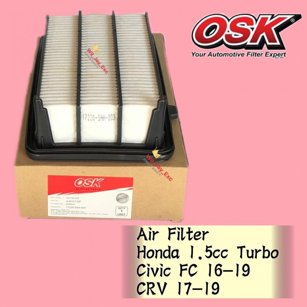 OSK AIR FILTER A-N10310P HONDA CIVIC FC TURBO, CRV TURBO