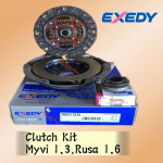 EXEDY MYVI 1.3CC, RUSA 1.6CC CLUTCH KIT + BEARING KOYO JAPAN DH557162U