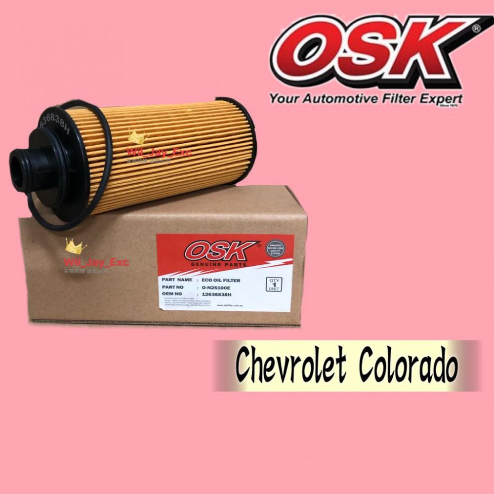 OSK OIL FILTER O-N25100E CHEVROLET COLORADO (12636838)