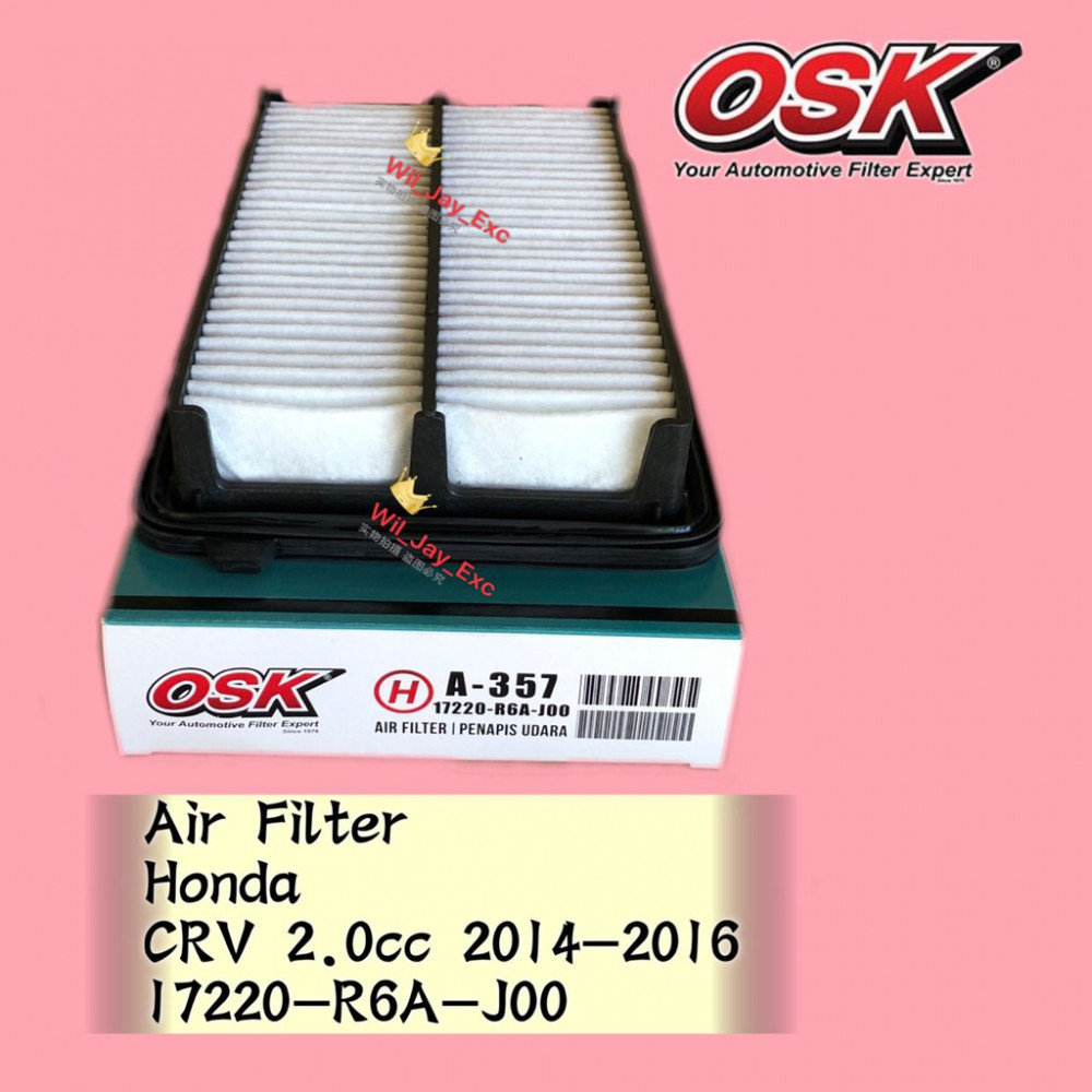 OSK AIR FILTER A-N357 HONDA CRV CR-V 2.0CC 2014-2016