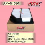 OSK AIR FILTER AP-N10301 HONDA CRV CR-V 2.4CC 2014-2016