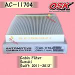 OSK CABIN FILTER AC-11704 SUZUKI SWIFT 2011-2012 AIRCOND FILTER