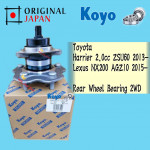 TOYOTA HARRIER ZSU60 2.0CC, LEXUS NX200 AGZ10 REAR WHEEL BEARING 2WD KOYO JAPAN