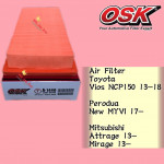 OSK AIR FILTER A-1440 VIOS NCP150,NEW MYVI 2017,ATTRAGE,MIRAGE