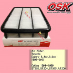 OSK AIR FILTER A-1385 TOYOTA CAMRY 1996-2001,CELICA 1993-1999