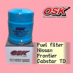OSK FUEL FILTER F-02N10 NISSAN FRONTIER, CABSTAR TD27 DIESEL FILTER