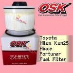OSK FUEL FILTER F-N82500 FORD RANGER T6 2.2CC / 3.2CC,TRITON 2017 DIESEL FILTER MAZDA BT50