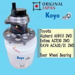 TOYOTA ALPHARD ANH10, ESTIMA ACR30,RAV 4 2WD,IPSUM ACM21 REAR WHEEL BEARING (KOYO JAPAN)