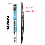 "NWB GRAPHITE WIPER BLADE AQUA JAPAN (19""+24"") (ACCORD SM 4)"