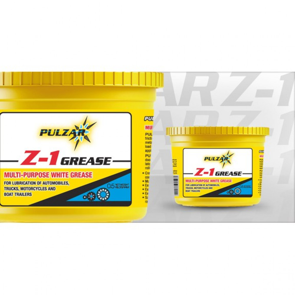 0.5KG (500G) PULZAR Z-1 MULTI-PURPOSE GREASE
