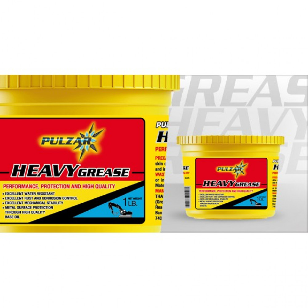 2KG PULZAR HEAVY GREASE (RED)